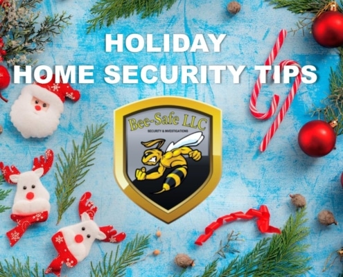 Holiday Home Security Bee Safe Security
